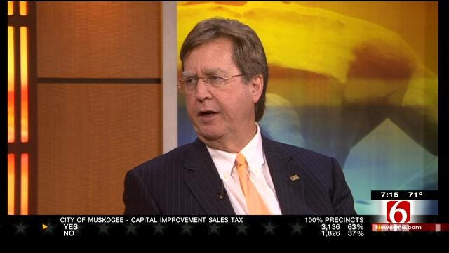 Tulsa Mayor Dewey Bartlett Reacts To Elections, City Budget For Next Fiscal Year