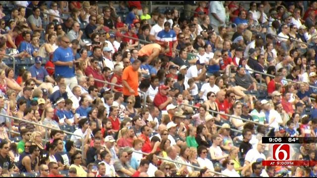 Soccer Fans Pack ONEOK Field To Cheer U.S. In World Cup