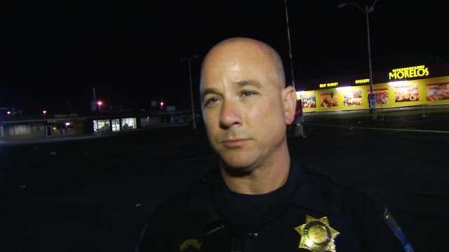 WEB EXTRA: Tulsa Police On East Tulsa Shooting
