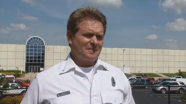 WEB EXTRA: Captain Stan May Gives Information On Substance Found In Tulsa Building