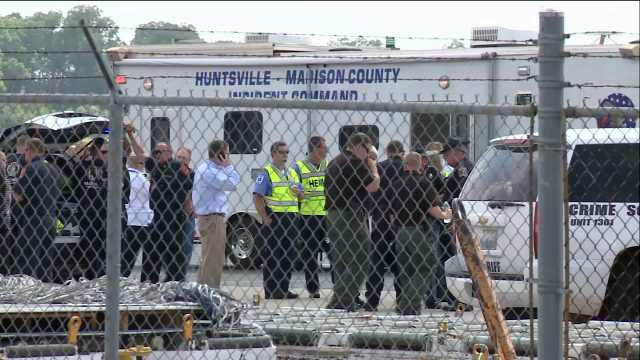 WEB EXTRA: Video From Huntsville, Alabama Airport