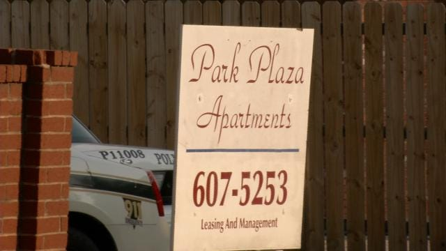 One Wounded In Shooting At Tulsa Park Plaza Apartment Complex
