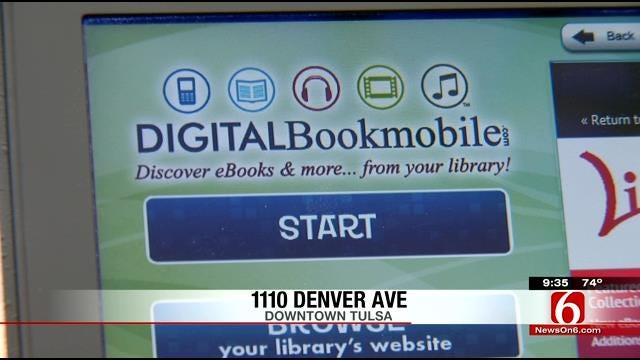 Tulsa City-County Library Holds Digital Festival In Bookmobile