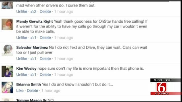 OK Talk: Do You Text And Drive?