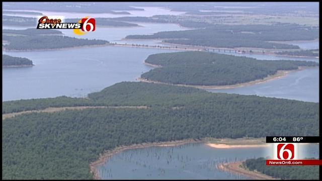 Skiatook Lake Goers Hope Forecasted Rain Raises Low Water Level