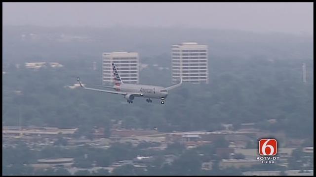 WEB EXTRA: American Maintenance Flight Makes Emergency Landing