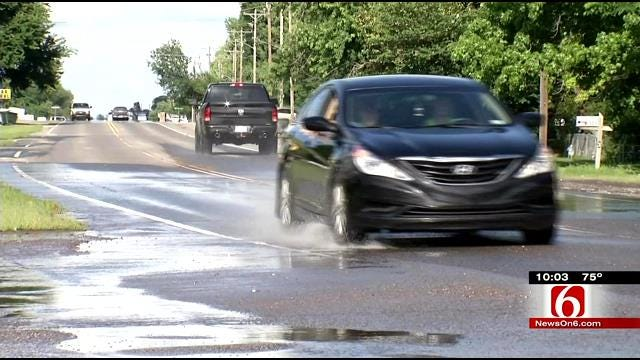 Fort Gibson Mayor: No Immediate Fix For Flood Issues