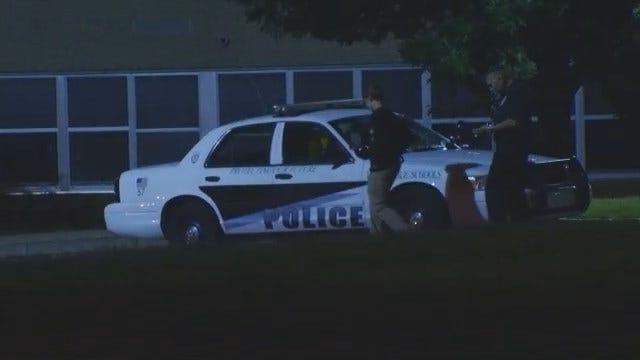 WEB EXTRA: Suspect In Custody In Middle School Break-In