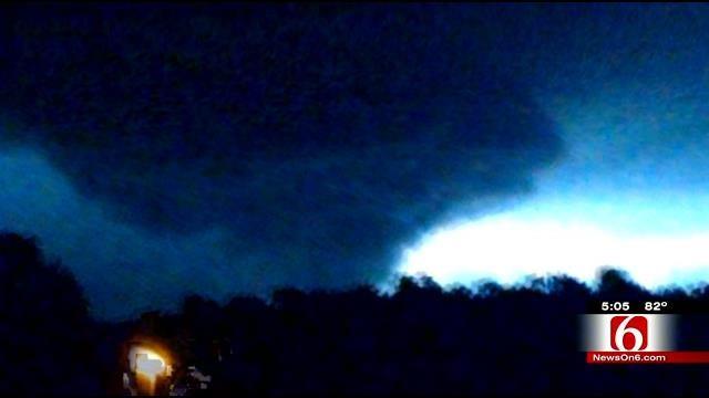 Authorities Investigate Reports Of Tornado Damage Near Oologah