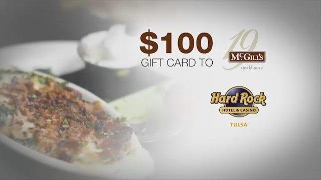 Best Summer Ever: McGills and Hard Rock Casino Gift Card (Next Week)