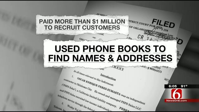 OKC Telecom Owner Indicted For Scamming Federal Funds In Cell Phone Program