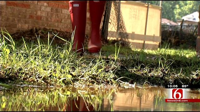 After Flooding, Fort Gibson Residents Say They're Dealing With Sewage Issues