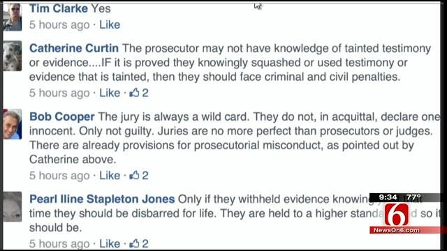 OK Talk: Should The Prosecutors Be Punished If An Innocent Person Is Convicted?