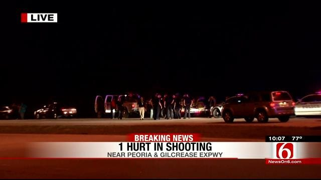 14 Year Old Taken To Hospital After Being Shot On Gilcrease Expressway