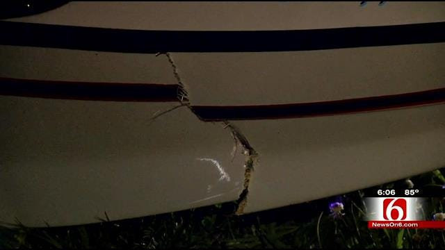 Pilot Recovering After Homemade Plane Crashes In Wagoner