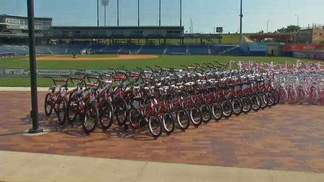 WEB EXTRA: Video Of Bicycles That Will Be Given Away
