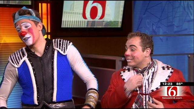 Ringling Bros. And Barnum & Bailey Circus Clowns Visit News On 6