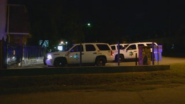 WEB EXTRA: Video From Scene Of Traffic Stop at Heathstone Condos In Tulsa