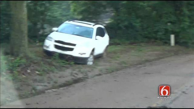 WEB EXTRA: Cars Abandoned On 81st Street Near Elwood