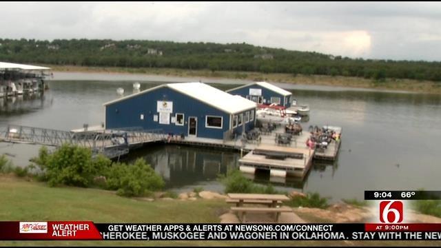 Safety In Mind, Oklahoma Lake Goers Enjoy Rainy Memorial Day
