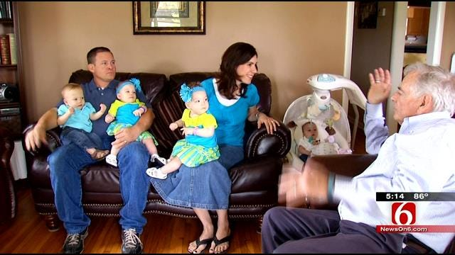 Tulsa Parents Of Five: 'We Can't Imagine Just One'