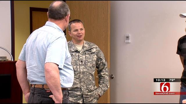 Oklahoma Man Wanted To Keep Purple Heart Quiet