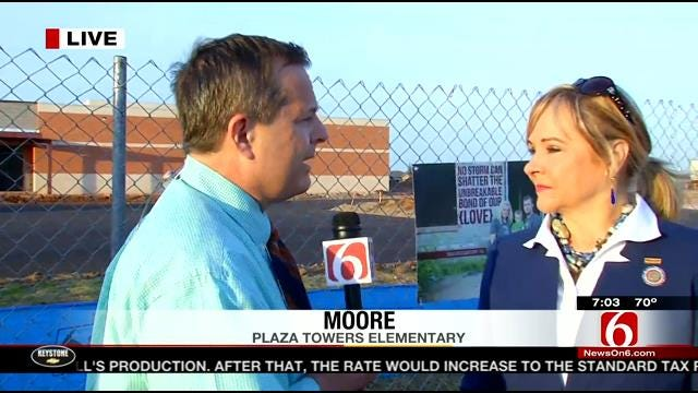 Oklahoma Governor Mary Fallin Talks About Moore Tornado, One Year Later