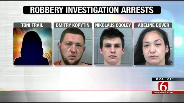 Four Arrested After Oologah Area Home Invasion Robbery