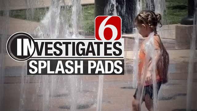 6 Investigates Splash Pads