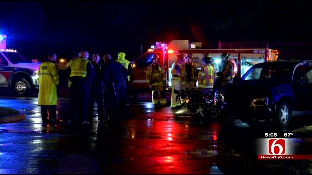 Motorcyclist Killed In Tulsa Collision With SUV