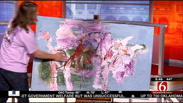 Tulsa Mayfest Artists Bring Their Artwork To 6 In The Morning
