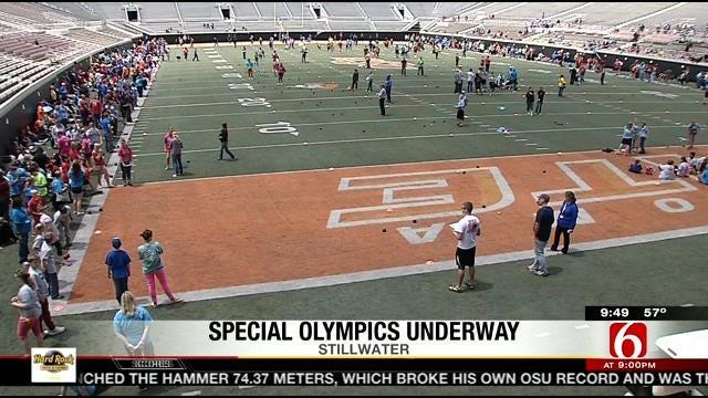 Special Olympics Summer Games Underway In Stillwater
