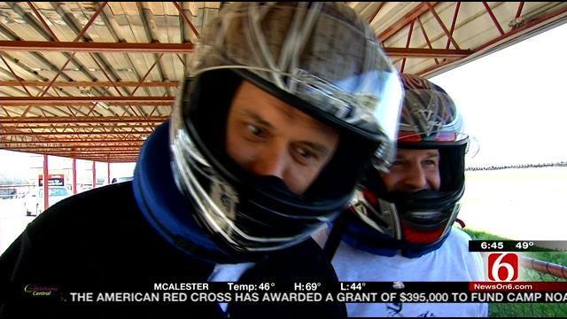 LeAnne Vs. The Boys: Go Kart Racing Challenge