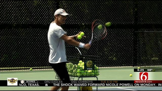 Former World No. 1 Tennis Pro Hosted A Clinic In Tulsa