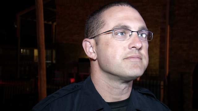 WEB EXTRA: Tulsa Police Cpl. Jerrod Hart Talks About The Robbery, Shooting