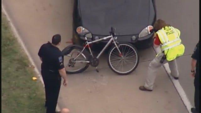 WEB EXTRA: Osage SkyNews 6 Flies Over Fatal Bicycle Crash