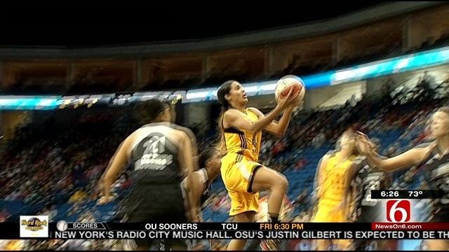 Tulsa Shock Aiming For First Playoff Berth Since Relocation