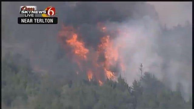 Grass Fire Threatens Terlton
