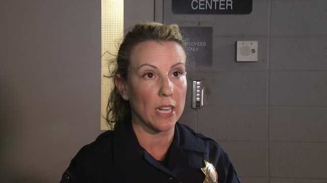 WEB EXTRA: Tulsa Police Officer Jill Roberson Talks About Abduction, Arrest