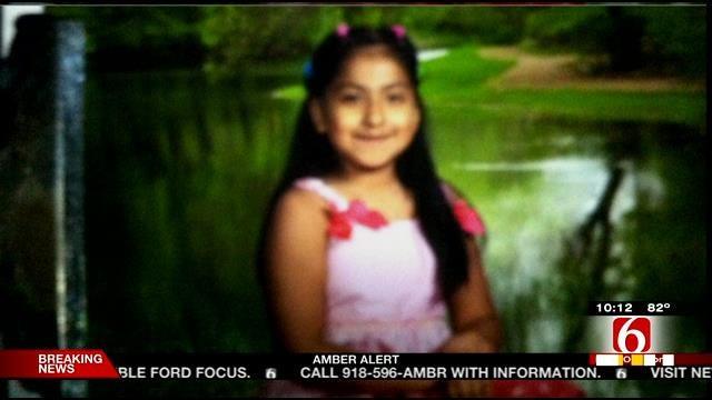 AMBER ALERT: 8-Year-Old Girl Taken From Swing Set In East Tulsa