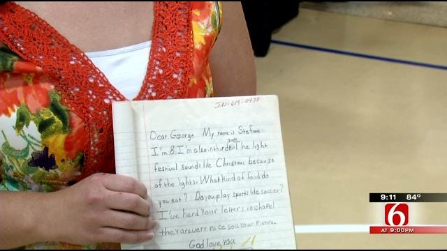Letters From Tulsa Children Change Course Of India Man's Life