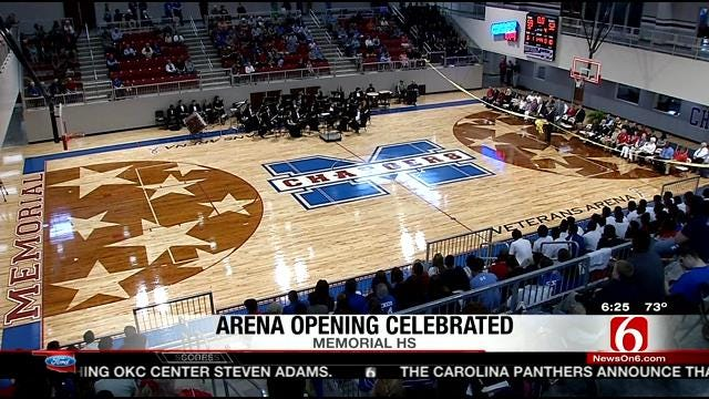 Memorial Cuts Ribbon On New Arena