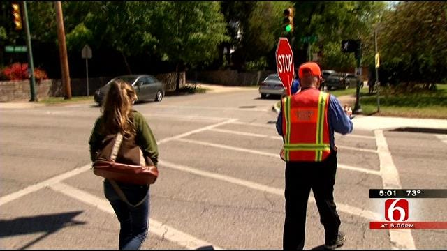School Crossing Guards May Be Cut From City Of Tulsa Budget