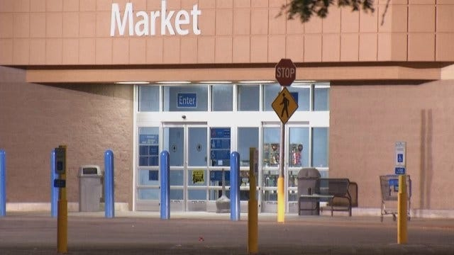 WEB EXTRA: Video From Scene Of South Tulsa Walmart Store