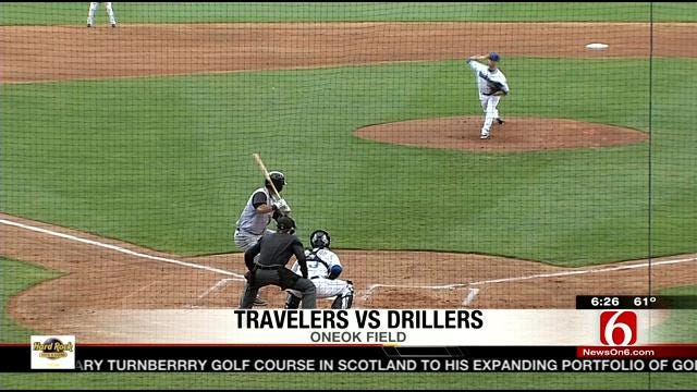 Drillers Fall To Travelers