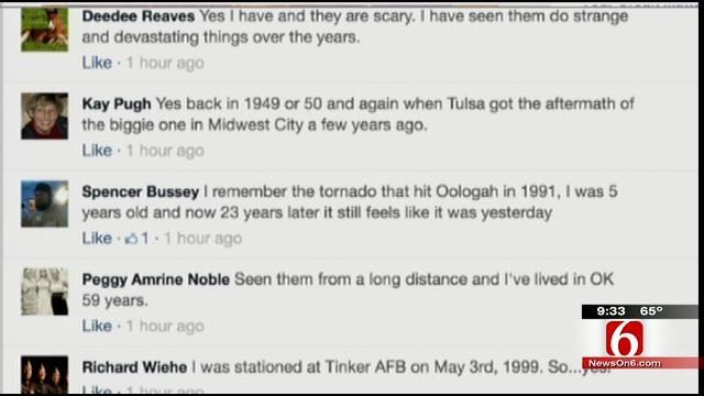 OK Talk: Have You Ever Seen A Tornado?