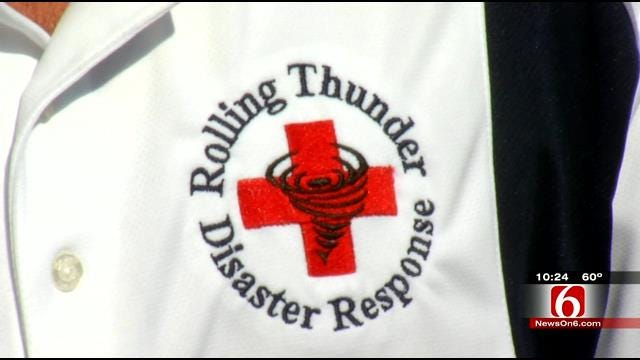 Owasso Storm Trackers Find Storms - Then Help Victims