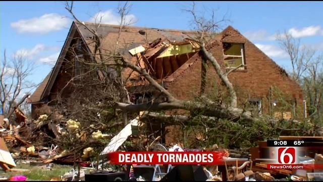 Tornado Leaves Overwhelming Damage In Baxter Springs