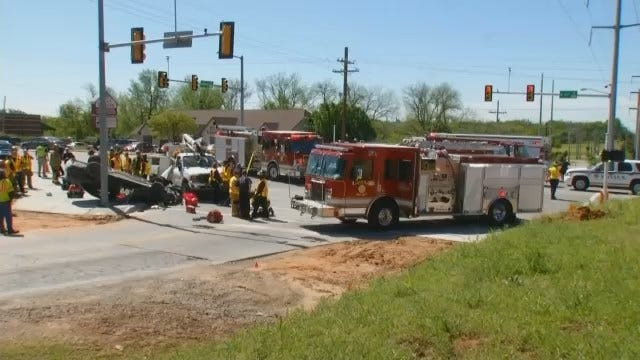 WEB EXTRA: Scenes From The 71st And Elwood Accident