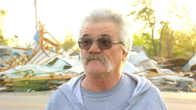 WEB EXTRA: Quapaw Resident Sid Smith Talked To Dave Davis About Seeing The Tornado